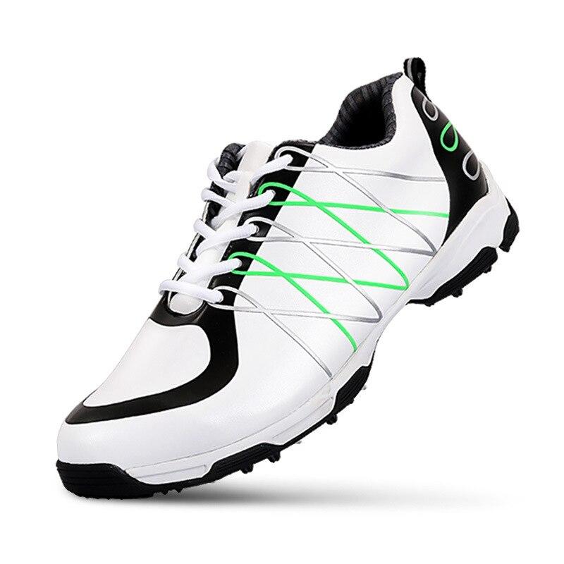 Golf Shoes Men Sports Shoes Microfiber Leather Shoes EVA Anti-slip Sports Sneakers Pgm Lace-Up Golf Footwear hot pgm golf bag golf clothes bag men