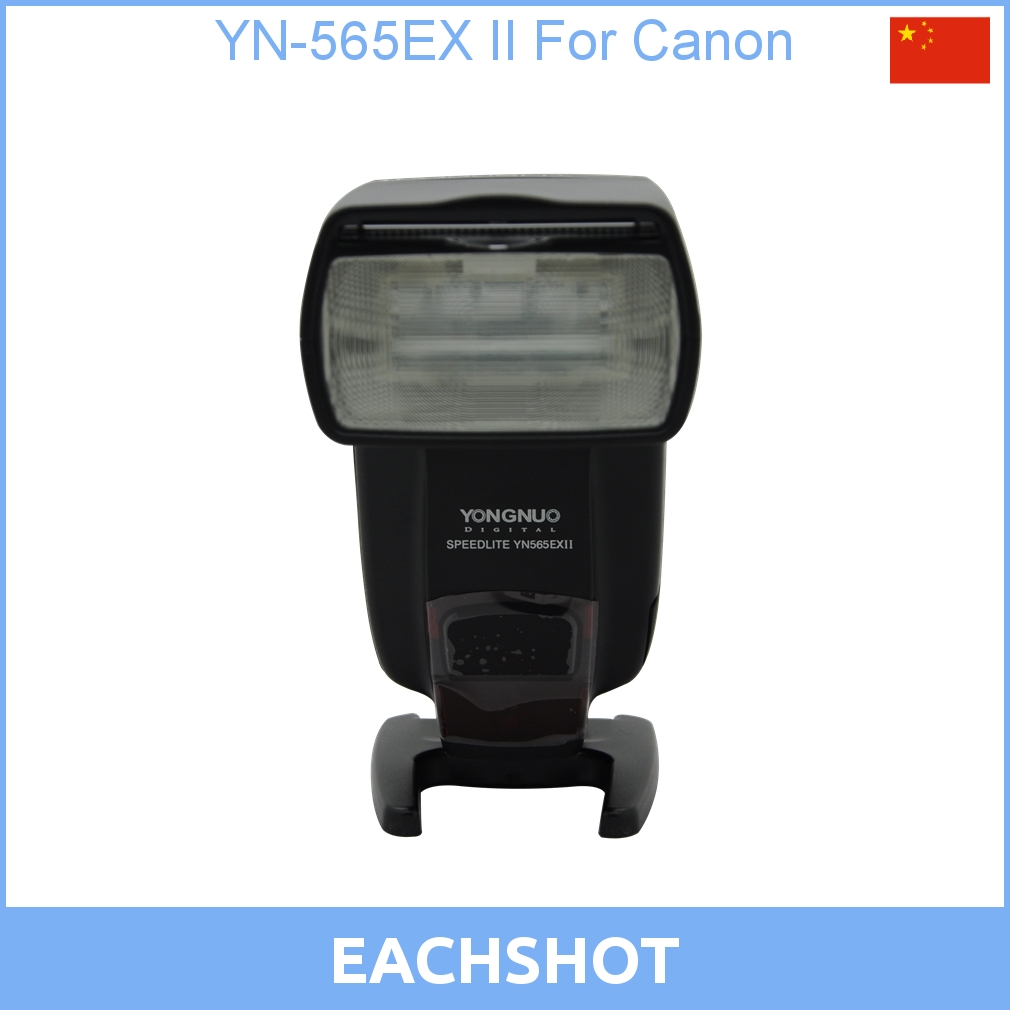 цена на New Version YN-565EX II TTL Flash Speedlite With High Guide Number For Canon 6D 7D, 70D 60D, 600D, XSi XTi T1i T2i T3