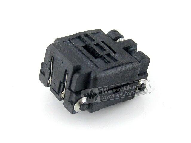 ФОТО Plastronics IC Test Socket Adapter 24QN50K14040 24QN50S14040 0.5mm Pitch 24 Pins QFN24 MLP24 MLF24 Package Free Shipping