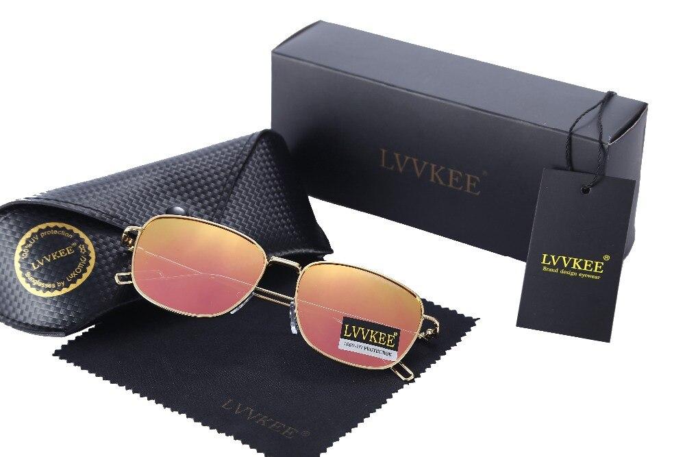 LVVKEE Märkesdesign Mode polariserad beläggning Pilot solglasögon - Kläder tillbehör - Foto 3