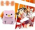 Bakemonogatari Hachikuji Mayoi Школьный Рюкзак сумка Косплей Аниме