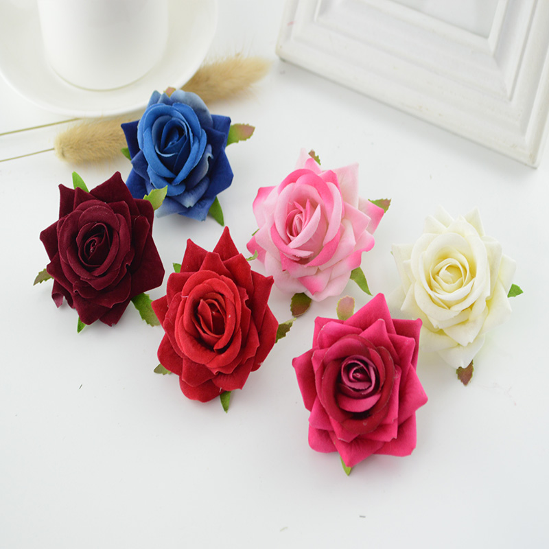 Clearance silk flowers choice image flower decoration ideas clearance artificial flowers promotion shop for promotional 100pcs high quality silk roses 6cm home wedding decoration mightylinksfo
