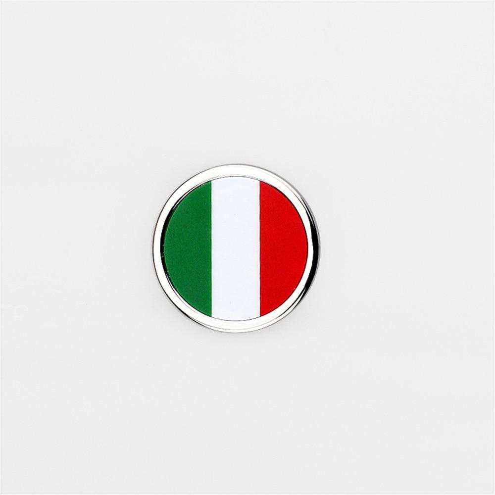 Car Body Sticker Italy Flag Emblem Badge Decal Auto Accessories For Fiat Jeep Alfa Romeo Lancia Maserati Ford Vw Renault Peugeot auto chrome camaro letters for 1968 1969 camaro emblem badge sticker