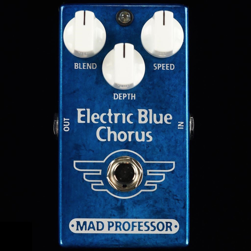 Mad Professor Electric Blue Chorus Electric Guitar Effects Pedal NEW (Factory Made) mr niscar 1 pair blue shoe cushion insoles anti slip pads foot care pads protector high heel insert insole 7 color