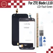 Ocolor zte blade l110 용 lcd 디스플레이 및 터치 스크린 zte blade l110 + 도구 및 접착제 용 휴대 전화 액세서리