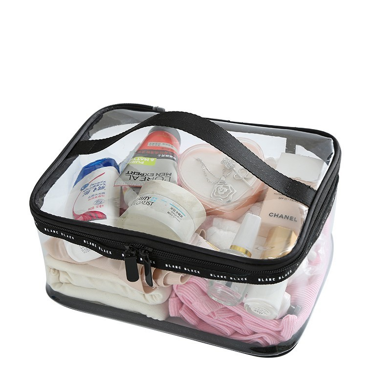 Waterproof Transparent PVC Cosmetic Bag Women Make Up Case Travel Clear Makeup Beauty Wash Organizer Bath Toiletry Storage Kit