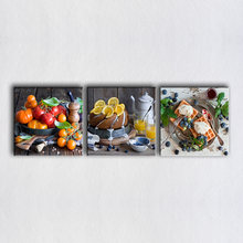 3 Pieces/Set Paintings Of Fruit For Kitchen Home Decor Modern Canvas Art Wall Pictures For Dinning Room Food Print Poster(China)