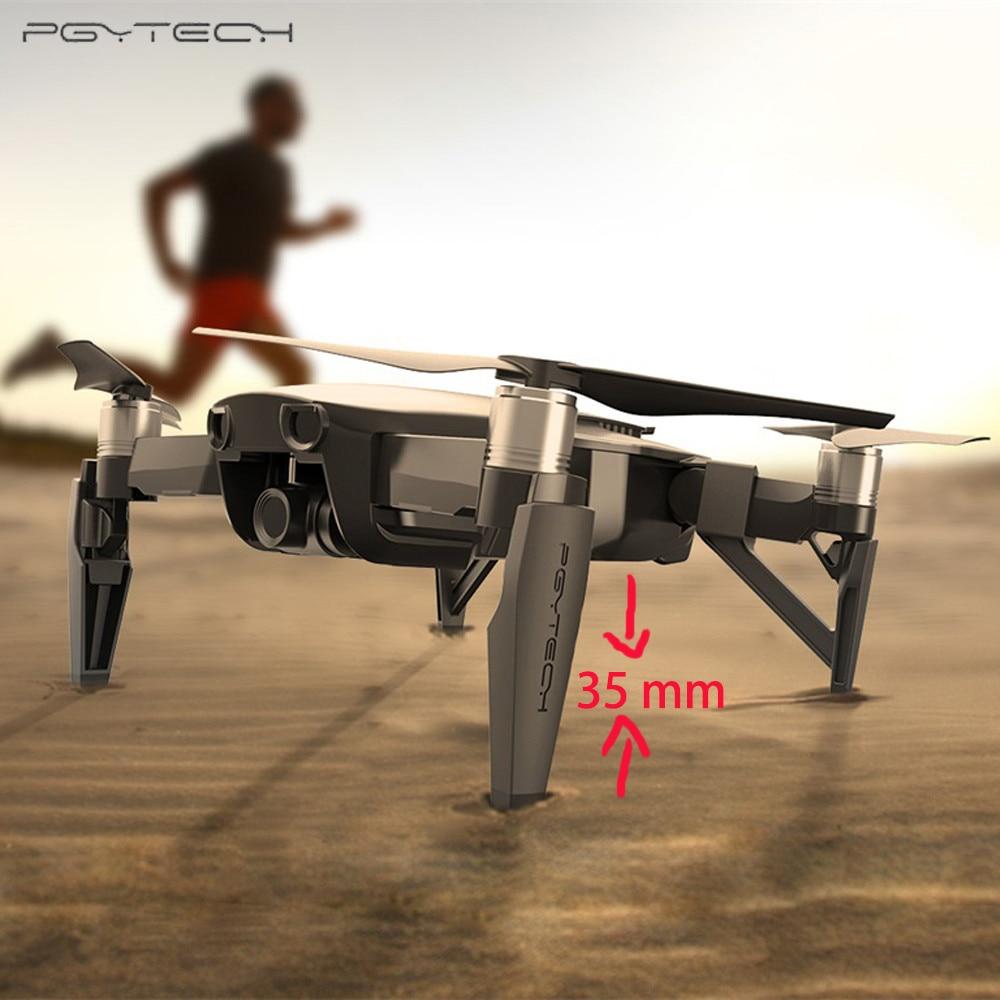 PGYTECH Extended Landing Gear para DJI Mavic Air Leg soporte Protector extensión ajuste para DJI Mavic AIR Accesorios