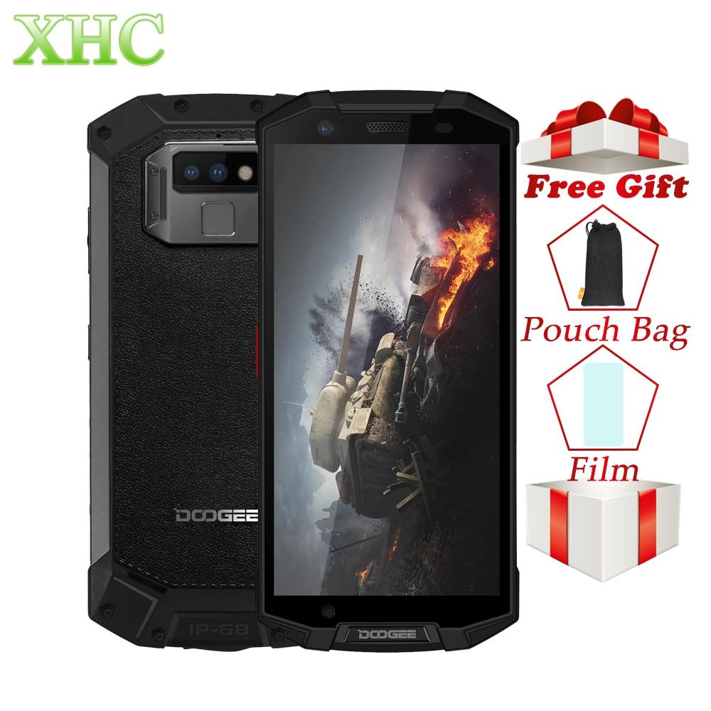 IP68 DOOGEE S70 Lite Rugged Phone 4GB+64GB Dual Back Cameras 13MP Fingerprint ID Smartphone 5.99inch Octa Core Dual SIM NFC GPS