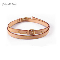 Bag Strap 100 Genuine Leather Handbag Straps Shouder Bag Belts Really Oxidation Cow Leather Accessory Bags