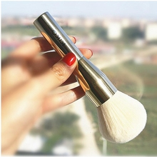 2016 Hot sale Professional Makeup Brushes Powder metal rod loose paint Cosmetic make up brush tools maquiagem free shipping S487