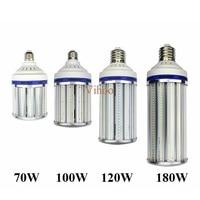 High power 70W 100W 120W 180W E27 E40 E26 E39 LED Bulb SMD2835 Street Light lighting 85 265V Corn Lamp downlight Warm Cold white
