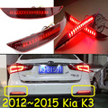 car-styling,KlA K3 Breaking light,Sedan car,2012~2015,led,Free ship!2pcs,KlA K3 rear light;car-covers,KlA K2 tail light,K 3,K3S