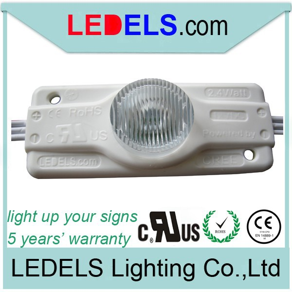 300pcs 12V 2.8W Osram Led Modules for double-sided illuminated box signs, Powered by 3W High Power LED UL Certificated