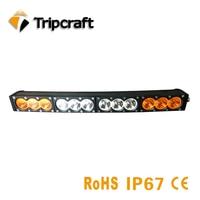 120w Curved led work light bar 12V 24V car driving fog lamp for off road truck auto UAZ rampe amber white spot flood combo beams