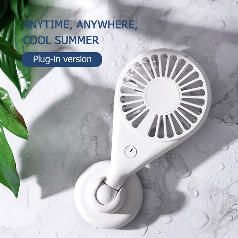 Portable Mini Fan Handheld Ventilador USB Rechargeable Fan 7 Blades Desktop Summer Cooler Air Cooling Fan for Outdoor Travel (10)