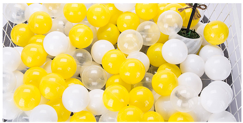 Soft Ocean Balls For Baby Pool Pit Play Indoor Outdoor 100pcs//lot 7CM One Color
