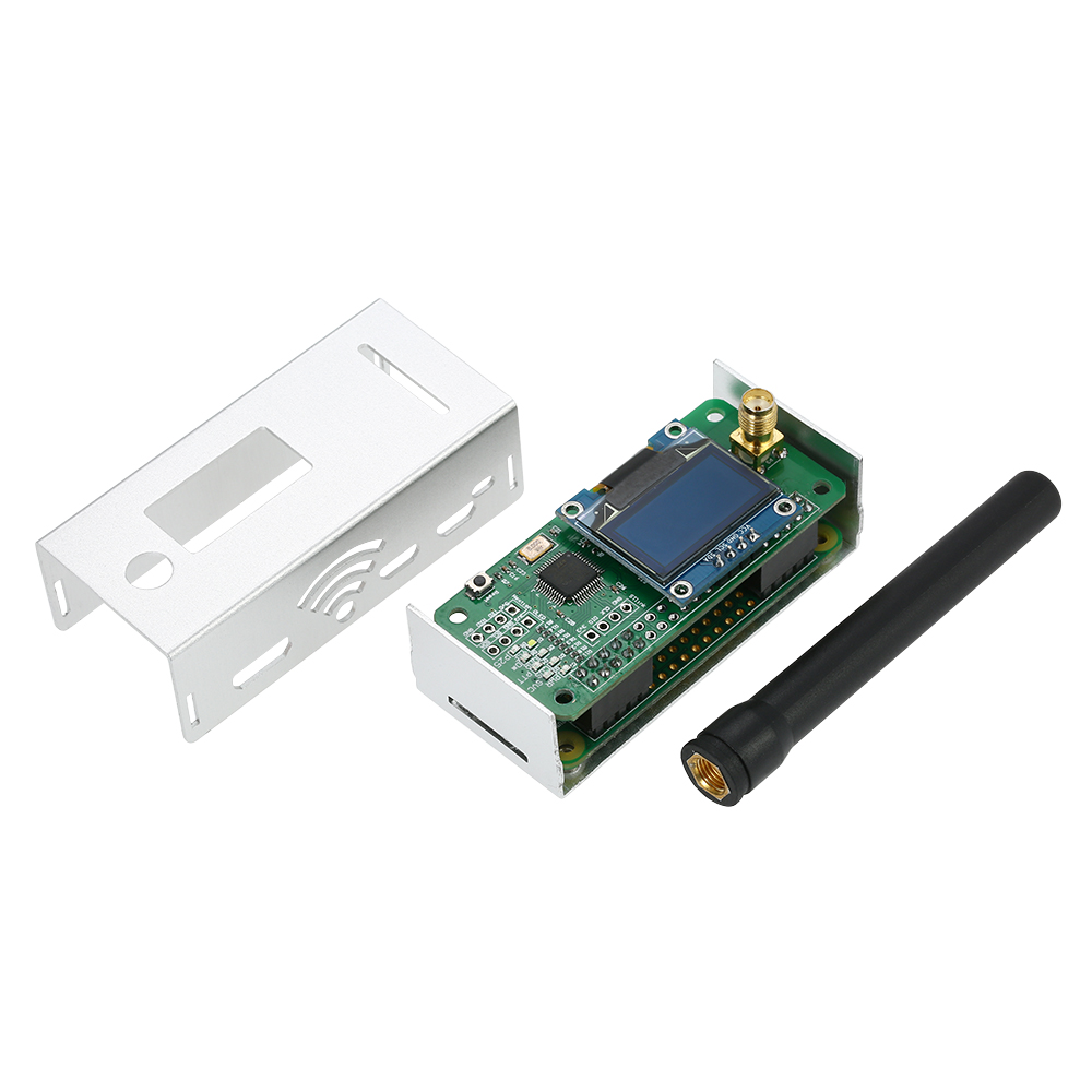 Image 2 - Mini MMDVM Hotspot Expansion Board Spot Radio Station Wifi Digital Voice Modem with Case for P25 DMR YSF Raspberry Pi-in Integrated Circuits from Electronic Components & Supplies