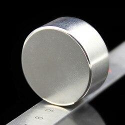 1 шт. Сильный круглый диаметр 40 мм x 20 мм N35 редкоземельный неодимовый магнит художественное ремесло холодильник 40x20мм
