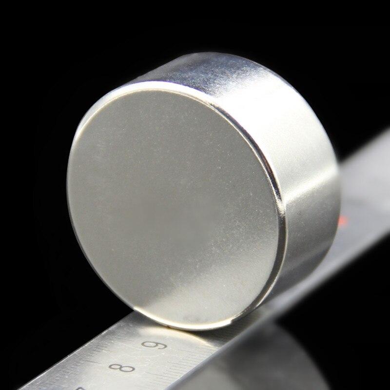 1pcs Strong Round Dia 40mm x 20mm N35 Rare Earth Neodymium Magnet Art Craft Fridge free shipping