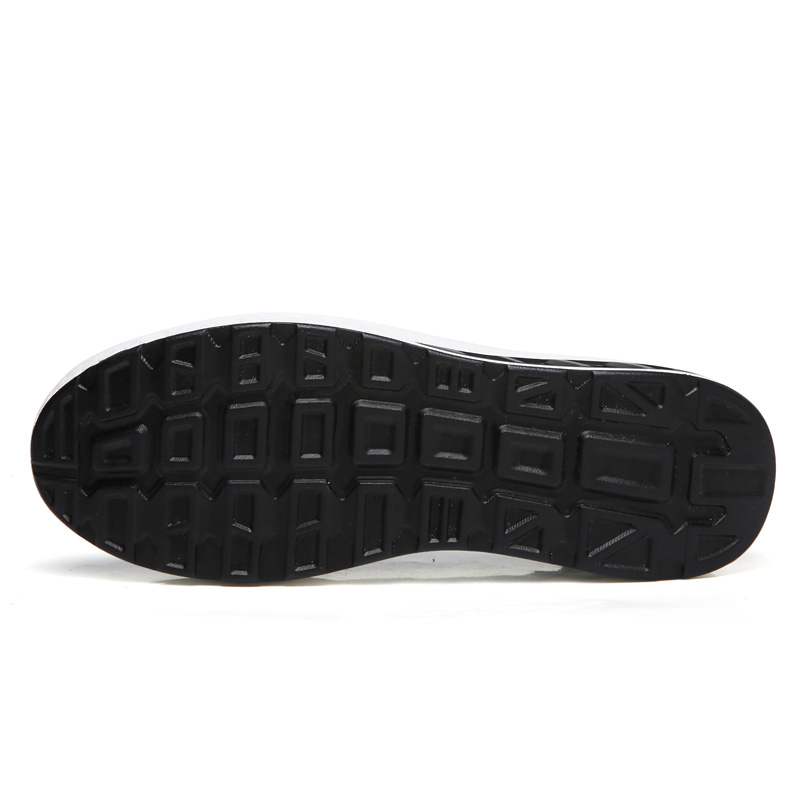 Sneaker Cuir argent bleu Mocassins Sport Respirant D'été Plate Véritable forme Chaussures Bout De Plat Noir Sur Rond Femme Glissent En Appartements blanc Wdzkn AFZx4w