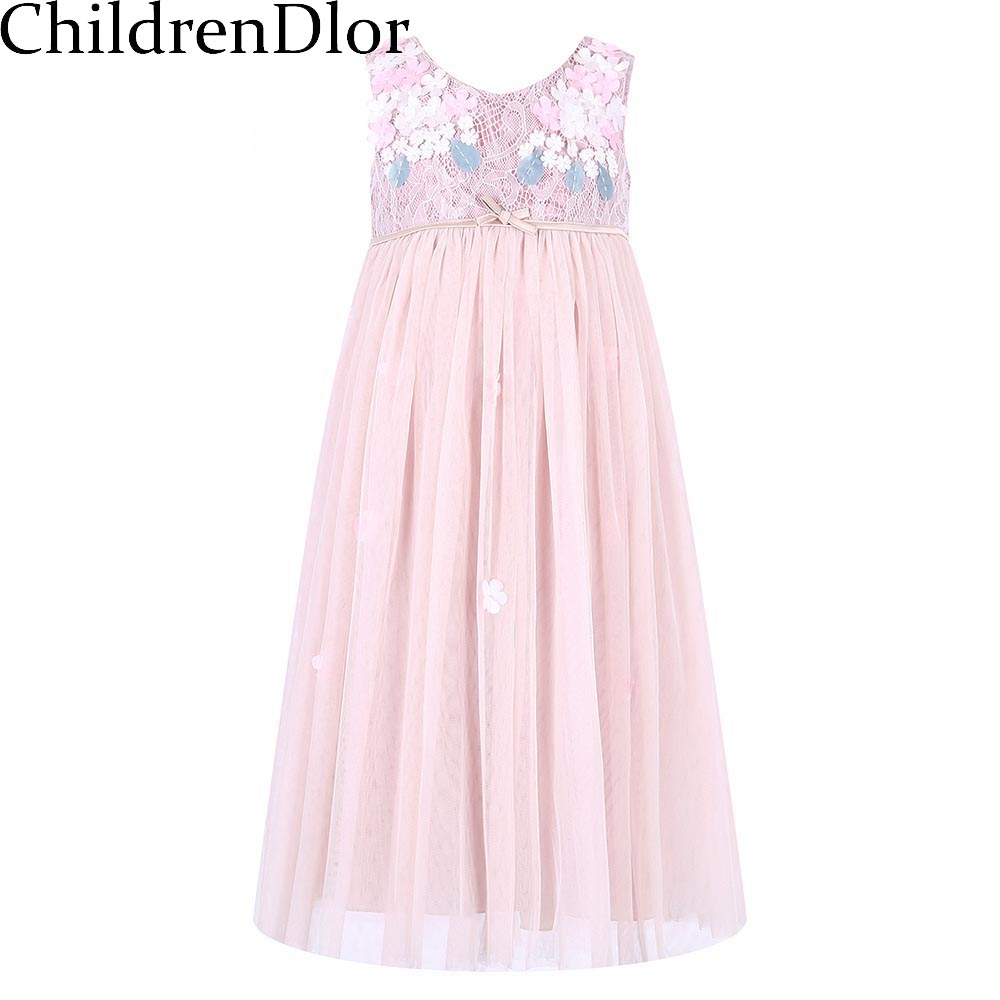 Подробнее о Princess Dress Robe Fille 2017 Brand Girls Summer Lace Dress with Bow Children Costumes Kids Party Dresses for Girls Clothes girls blouse dress 2017 brand summer robe princesse fille kids dresses for girls clothes 100% cotton floral children costumes