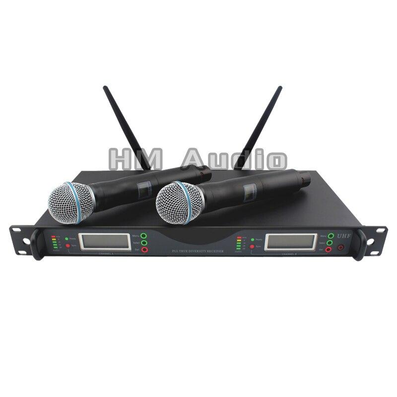 Nuevo sistema profesional de micrófono inalámbrico dual de alta - Audio y video portátil - foto 1