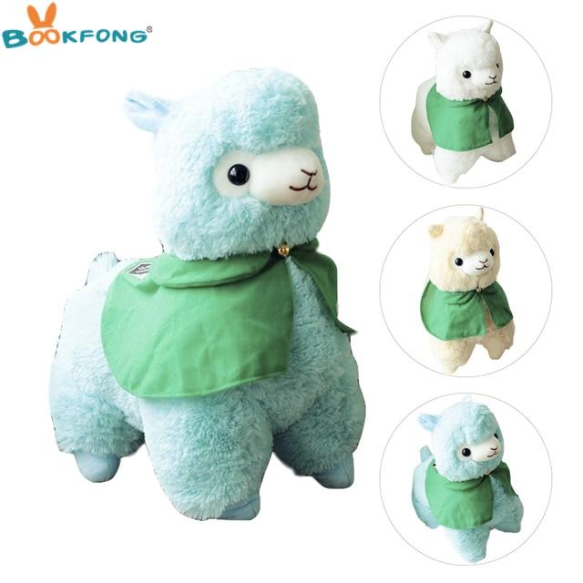 35/50 centímetros Japonês Alpacasso Plush Soft Toy Stuffed Animal Sheep Alpaca Kawaii Crianças Boneca de Presente de Aniversário