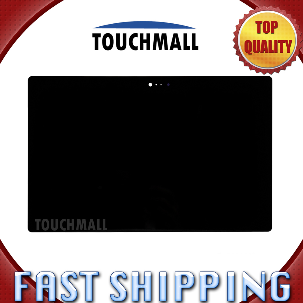 For New LCD Display Touch Screen Assembly Replacement For Microsoft Surface 2 RT 2 Rt2 1572 2nd Black Free Shipping replacement original touch screen lcd display assembly framefor huawei ascend p7 freeshipping