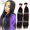 Nadula Hair Products Peruvian Virgin Hair Straight 3 Bundle Deals Peruvian Virgin Human Hair Extensions Puruvian Hair Bundles