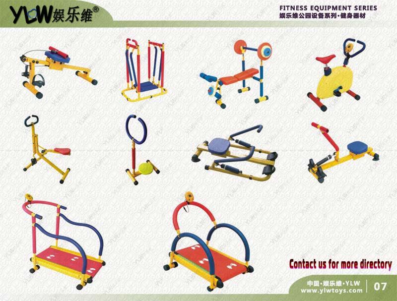 Équipement de conditionnement physique de ménage d'enfants, ascenseur de poids d'enfant d'équipement d'exercice extérieur/d'intérieur d'enfants