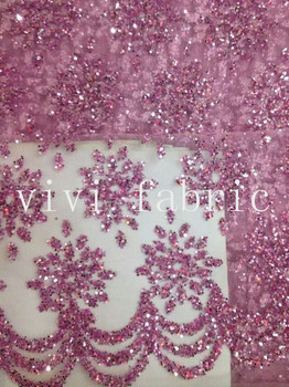 5yards HL302 5color dobby hand print glitter sparkle african india mesh tulle  fabric for wedding/evening dress/party,by dhl
