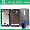 New ZE551ML Front Frame Back Battery Cover For Asus Zenfone 2 ZE551ML Front Middle Plate Battery