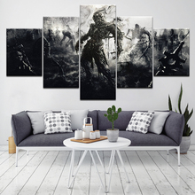 PC Games Wallpapers 5 Piece HD Art Canvas Print modern Poster Modular art painting for Living Room Home Decor
