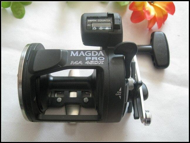 equipamento de pesca okuma magda ma 45dx tambor 01