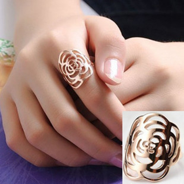 Trendy rose gold rings Women s Designer Rings Chinese Wholesale