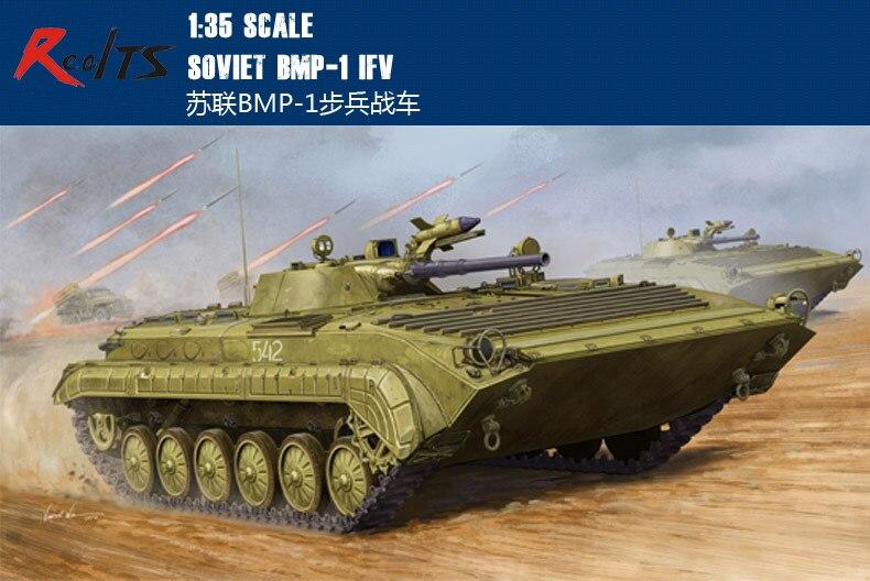 RealTS Trumpeter modèle 05555 1/35 BMP-1 soviétique IFV modèle en plastique kit