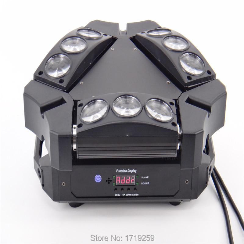 New Arrival MINI LED 9x10W Led Spider Light RGBW 16/48CH DMX Stage Lights Dj Led Spider Moving Head Beam Light high quality 9x10w rgbw led spider beam moving head light for disco dj bar club led beam wash light dmx effect stage lighting