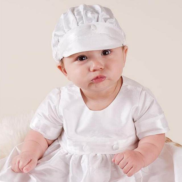 Baptism Clothes For Baby Boy Inspiration Online Shop White Baby Boy Long Baptism Gown Dress With Bonet