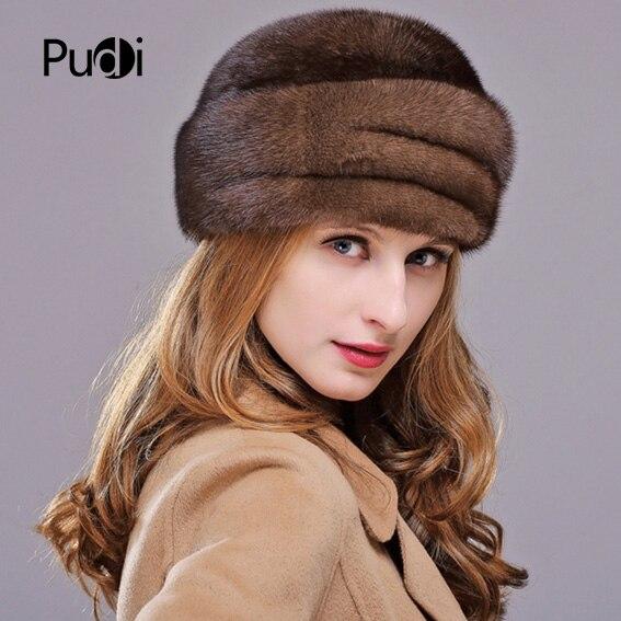 HM012 натуральная норковая меховая шапка женские зимние шапки цельные норковые меховые шапки