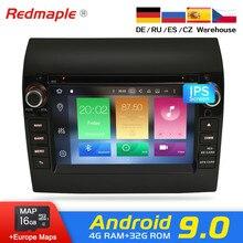 Android 9,0 автомобильный Радио dvd-плеер gps Мультимедиа Стерео для Fiat Ducato 2008-2015 Citroen Jumper peugeot Boxer видео навигация