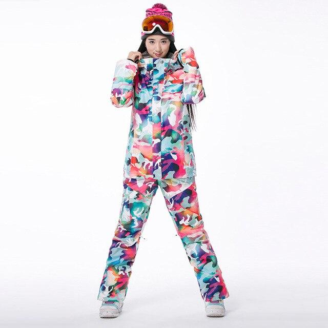лыжный костюм фото женский