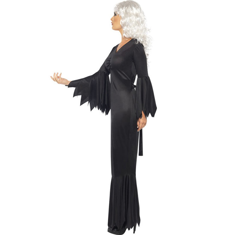 Women Halloween Jumpsuits Costumes Ghost Festival Horror Skeleton Conjoined Gowns Party Sexy Performance Rompers Cosplay Clothes (5)