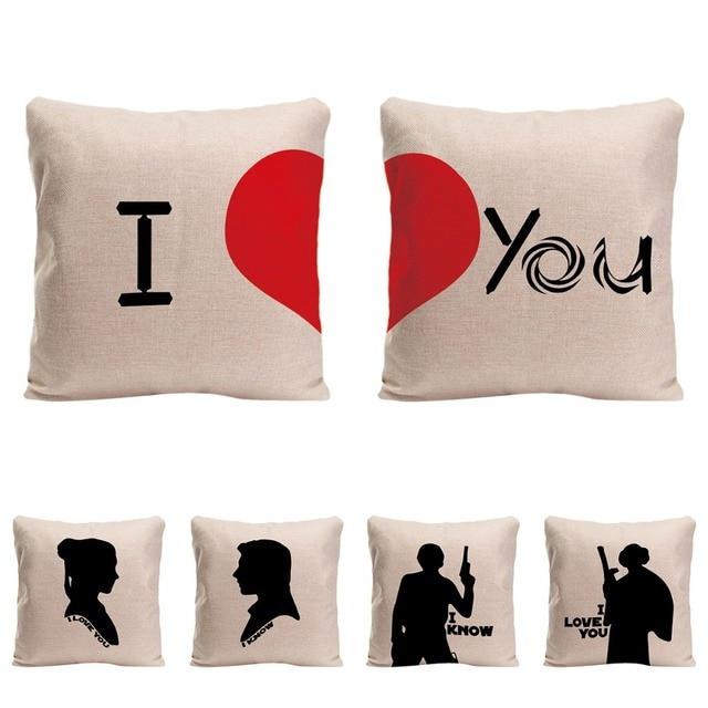 I Love You I Know Cushion Cover Wedding Decorative Pillow For Sofa