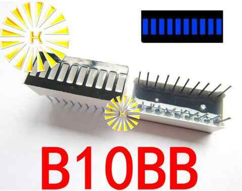 5 PCSx 10 شريحة الأخضر الأحمر الأزرق الأصفر اليشم الأخضر الأبيض الرقمية أنبوب LED بار 10*25 ملليمتر عرض وحدة B10G B10R B10BB ضوء الخرز