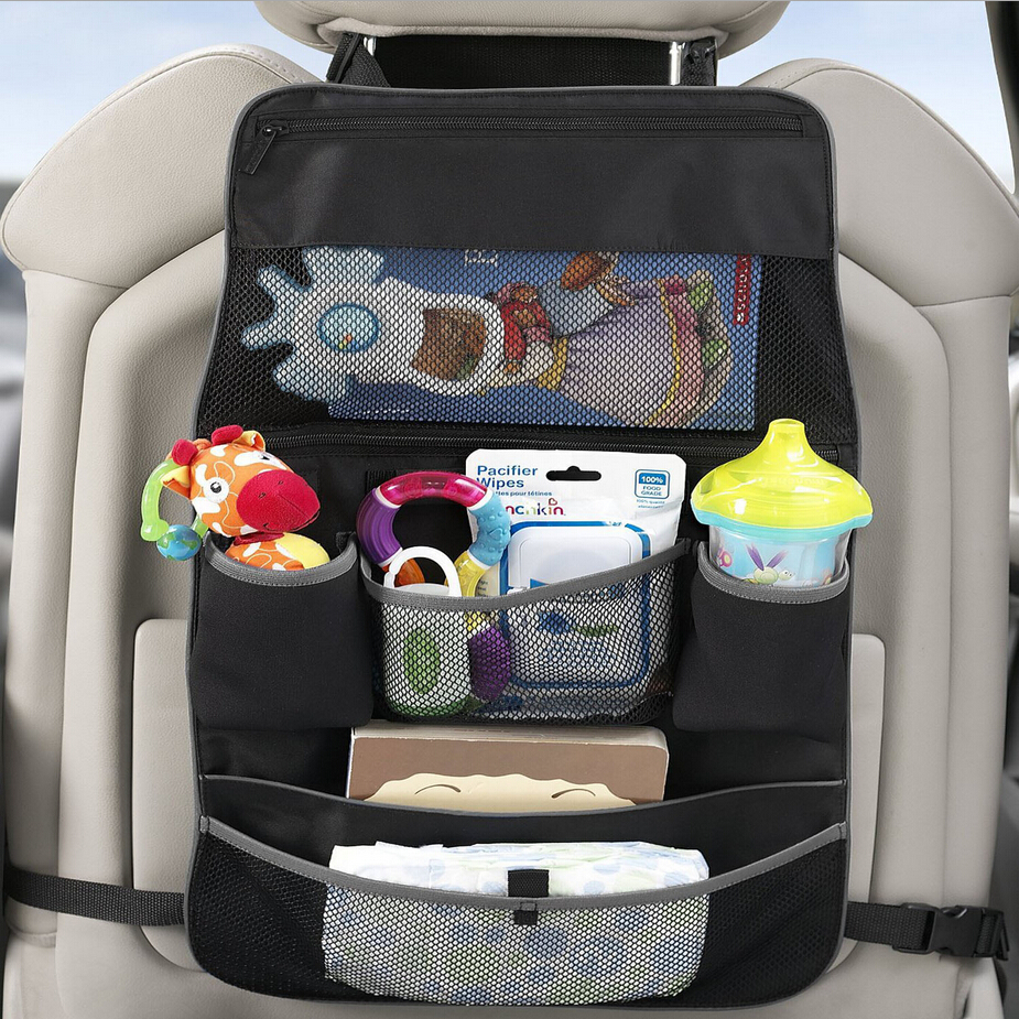 Baby stroller Storage bag stroller accessories diaper bag Mummy bag Feeding bottle bag Car Seat Organizer цена 2017