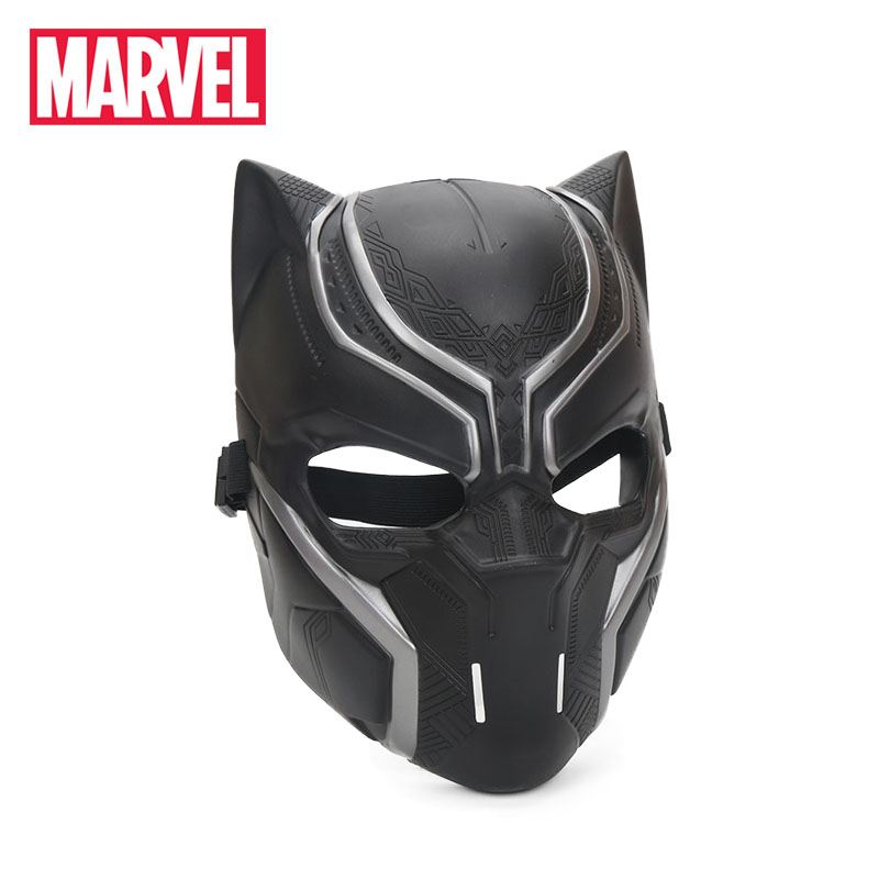 Hasbro Marvel Toys Black Panther Masks Captain America Civil War Roles Cosplay Full Face Plastic Mask Halloween Adult Party Prop adult men s tangled flynn rider cosplay boots shoes halloween cosplay prop custom made
