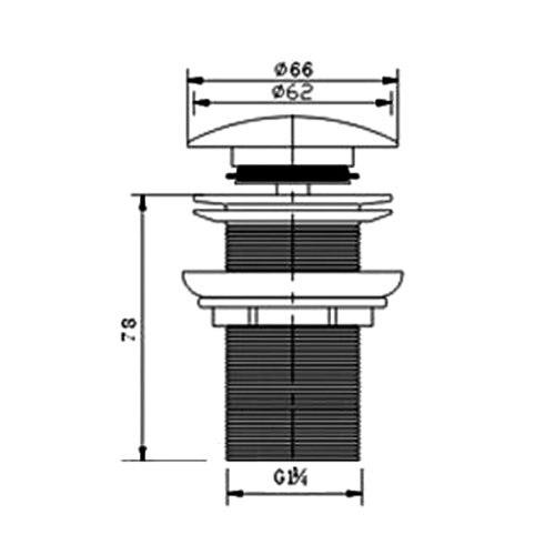 Bathroom Fixtures Drains Jfbl Wholesale 8cm Bonde Pop-up Automatique Pr Evier Lavabo Avec Trop-plein Quality And Quantity Assured