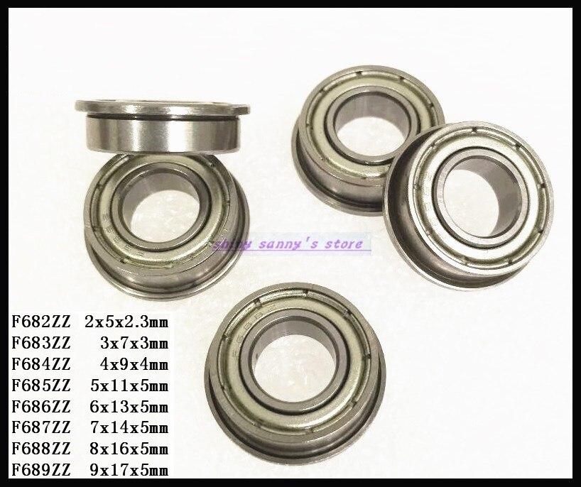 10x20x6 mm MR2010zz 5 PCS Metal Shielded Ball Bearings Bearing 10*20*6