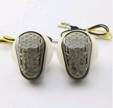 Motorcycle Flush mount Motorbike LED Turn Signals Light For FZ1 FZ6 YZF R1 YZF R6